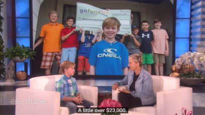 A 10-Year-Old Deaf Fundraiser's GoFundMe Campaign To Help People