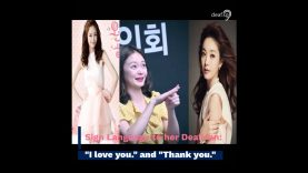 Actress Jeon So Min's Korean Sign Language (KSL) to Her Deaf Fan Went Viral