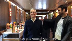America's Next Top Deaf Model Nyle DiMarco & Apple CEO Tim Cook To Celebrate Global Accessibility Awareness Day