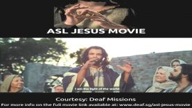 American Sign Language (ASL) Jesus Movie: Uncondemned