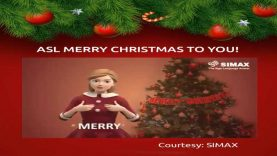 American Sign Language (ASL) Merry Christmas To You
