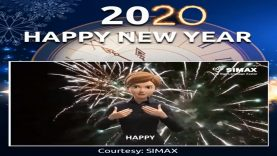 American Sign Language (ASL) New Year 2020
