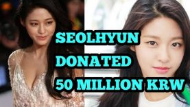 AOA's Seolhyun Makes A Meaningful Donation For Deaf Students