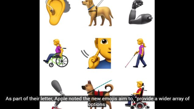 Apple To Propose 13 New Emojis For People With Disabilities