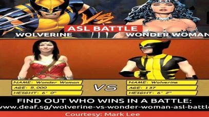 ASL Battle: Wolverine vs Wonder Woman