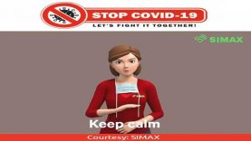 ASL COVID-19: Keep Calm & Stay at Home