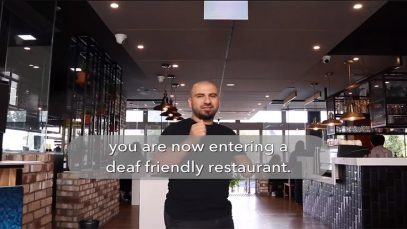 Australia's First Deaf-Friendly Punchbowl Rashays Restaurant