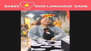 Babes Love Vietnamese Sign Language Game
