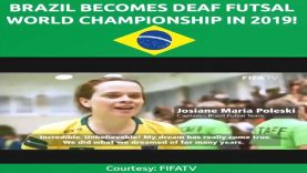 Brazil Won The 4th World Deaf Futsal Championships 2019