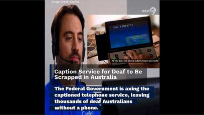 Caption Service for Deaf to Be Scrapped in Australia