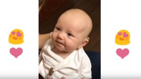 Deaf Baby's Laughters After Hearing For First Time With Hearing Aids