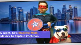 Deaf Dog Maestro Mutt: The Adventures of A Comic Book Superhero