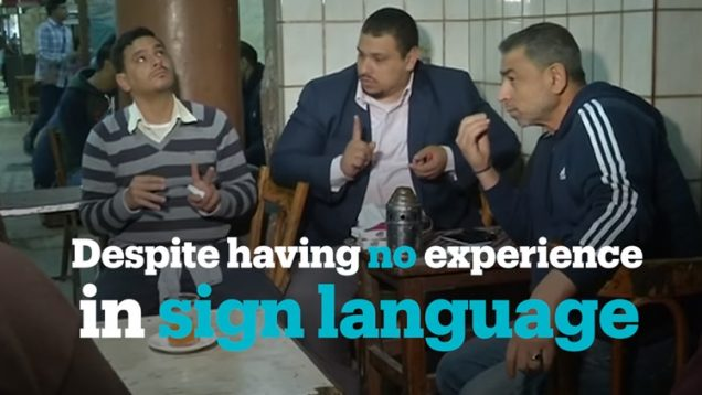 Deaf-Friendly Cafe in Egypt: Serving Deaf Customers Since The 50s