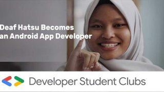 Deaf Hatsu Becomes a Google Android App Developer
