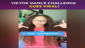 Deaf Teen Philly's TikTok Dance Challenge in ASL Goes Viral