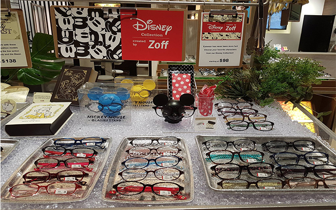 disney mouse glasses collection