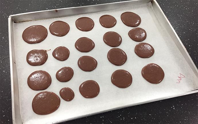 finished bake