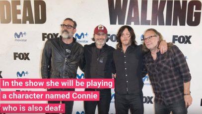 First Deaf Character Lauren Ridloff To Join The Walking Dead Season 9