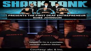 The First Deaf Entrepreneur Kobe Johnson on Shark Tank Season 11