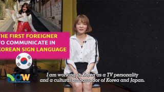 The First Foreigner to Communicate in Korean Sign Language