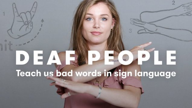 How Fun Is It To Use Bad Words In Sign Language
