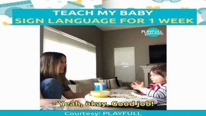 How to Teach My Baby Sign Language For 1 Week