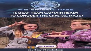 Is Deaf Team Captain Ready to Conquer The Crystal Maze