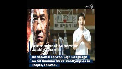 Jackie Chan's International Sign Language