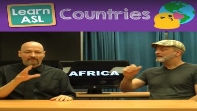 Learn ASL For Countries