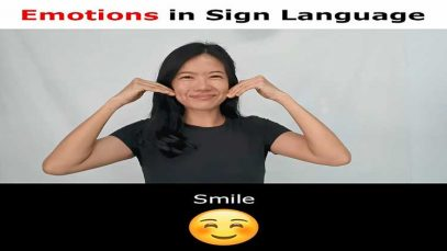 Learn Basic Feelings & Emotions in Sign Language