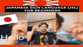 Learn Basic Words in Japanese Sign Language (JSL) for Beginners