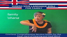 Learn Hawaii Sign Language Lesson for Family