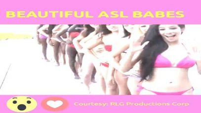 Long Queue of Beautiful ASL Babes to Greet You