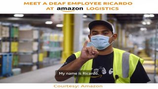 Meet A Deaf Employee Ricardo At Amazon Logistics