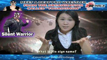 Meet a Deaf Pro Wrestler Silent Warrior in Japan