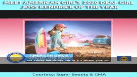 Meet An American Girl's 2020 Deaf Girl Joss Kendrick of the Year