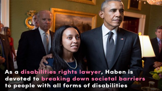 Meet A Deaf-Blind Disabilities Rights Lawyer Haben Girma