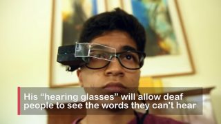 Meet Delhi Teen Who Invented Hearing Glasses For Deaf People