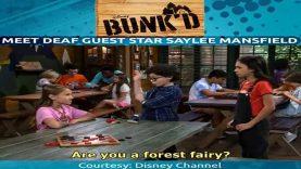 Meet Disney Bunk'd's Deaf Guest Star Saylee Mansfield
