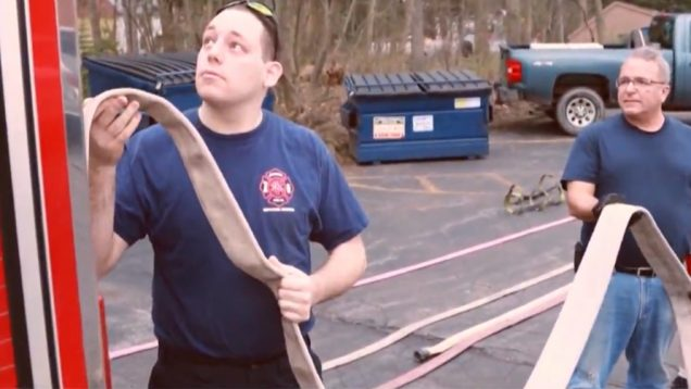 Meet Eric Nusbaum: The Life Of A Deaf DareDevil Firefighter