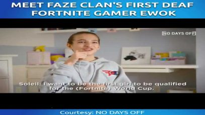 Meet FaZe Clan's First Deaf Fortnite Gamer Ewok