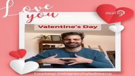 Nyle DiMarco's ASL Valentine Day 2020