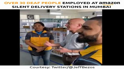 Over 30 Deaf People Employed at Amazon Silent Delivery Stations in Mumbai, India
