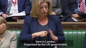 Penny Mordaunt Becomes The First Minister To Use Sign Language In Parliament