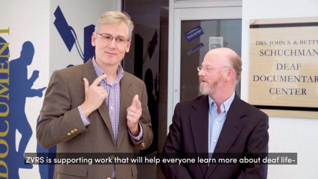Schuchman Deaf Documentary Center Partnership At Gallaudet University