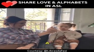 Share Love and Alphabets in American Sign Language (ASL)