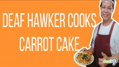 singapore carrot cake deaf hawker peter goh