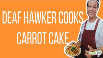 singapore carrot cake deaf hawker peter goh