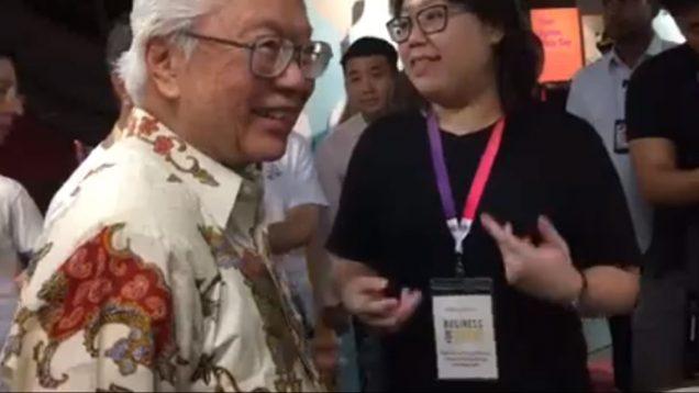 Singapore's President To Visit Hush Teabar During FestivalForGood 2017