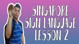 Singapore Sign Language Lesson 2: Geylang, Hair Cut & Handsome